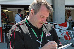 Steve Matchett - Steve Matchett 2005 United States Grand Prix