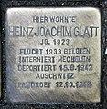 Stolperstein Annenstr 3 (Mitte) Heinz Joachim Glatt.jpg