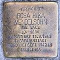Stolperstein Bundesallee 180 (Wilmd) Rosa Rika Mendelsohn.jpg