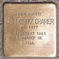 Stolperstein Dr Moritz Cramer by 2eight 3SC1399.jpg