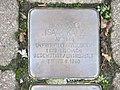 Stolperstein Isaak Katz, 1, Lindenstraße 25, Bad Wildungen, Landkreis Waldeck-Frankenberg.jpg