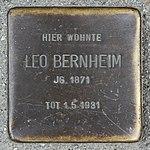 Stolperstein Leo Bernheim Müllheim.jpg
