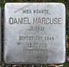 Stolperstein Luisenweg 10 (Reind) Daniel Marcuse.jpg