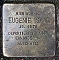Stolperstein Pariser Str 45 (Wilmd) Eugenie Isaac.jpg