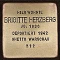 Stolperstein für Brigitte Herzberg (Cottbus).jpg