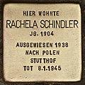 Stolperstein für Rachela Schindler (Cottbus).jpg