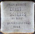 Stolpersteine Köln, Ernst Schloss (Kartäuserwall 7).jpg