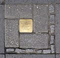 Stolpersteine Krefeld, Verlegestelle Lewerentzstraße 21.jpg