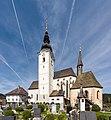Straßburg Lieding Pfarrkirche hl. Margaretha mit Friedhof und Karner 22042019 6652.jpg