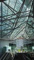 Strabag Building Vienna underneath the projecting roof on 2015-07-10.png