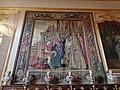 Strasbourg, Palais Rohan, tapisserie dans la bibliothèque (2).JPG