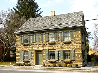 Strasburg, Pennsylvania - 27 East Main Street, built in 1754