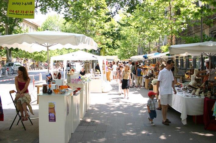 Street Market in Aix en Provence