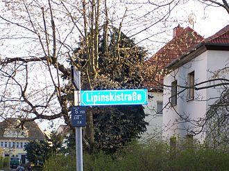 Richard Lipinski - Lipinski Street in Leipzig