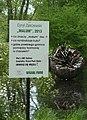 Strzeszyńskie lake Poznan, sculptures park, Cyryl Zakrzewski, Malum (2).jpg