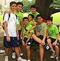 Students of Lourdes School of Mandaluyong in Intramurals.jpg