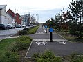 Stupid cyclepath - geograph.org.uk - 1105665.jpg