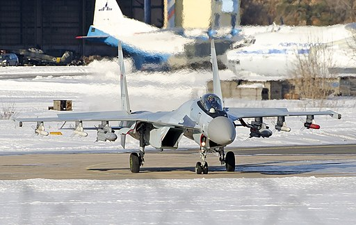 Su-35S of the Russian Air Force