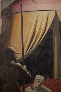 Sueño de Constantino. Arezzo. 05