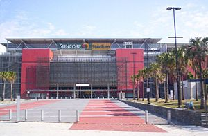 Milton, Queensland - Suncorp Stadium a prominent landmark of Milton