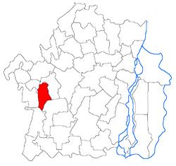 Vị trí của Surdila-Gaiseanca