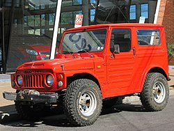 Red Suzuki Samurai For Sale