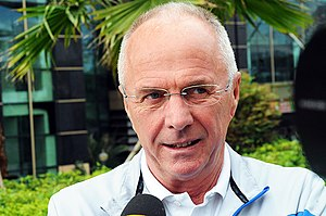 Sven-Göran Eriksson - Eriksson in China