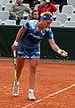 Svetlana Kuznetsova Roland Garros 2013 3rd round match vs Bojana Jovanovski - serving.JPG