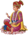 Swaminarayan, founder of the Swaminarayan Sampradaya.png