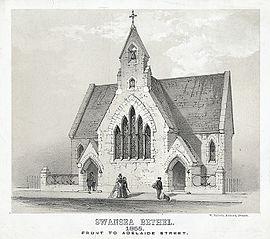 Swansea Bethel. 1855. Front to Adelaide street