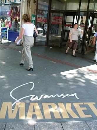 Swansea Market - Image: Swansea Market 4