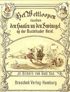 The Hare and the Hedgehog Well-known German fairy tale recorded by the Brothers Grimm in 1843