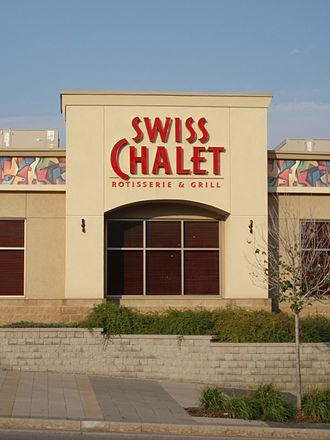 Swiss Chalet - A Swiss Chalet restaurant in Markham.