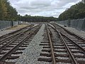Switches at entrance to Wachusett Layover, September 2016.jpg