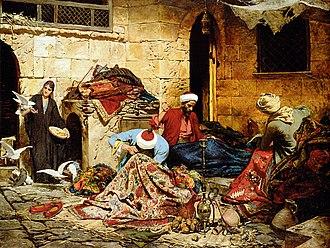 Rudolf Swoboda - Carpet-menders