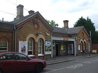 Sydenham railway station (London) station in the south London Borough of Lewisham