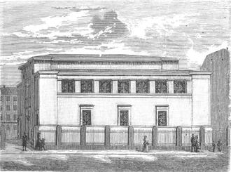 Gustav Friedrich Hetsch - Image: Synagogen Krystalgade 1899