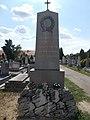 Szent Antal temető, a csornai csatában elesett honvédek emléke, 2019 Csorna.jpg