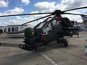 TAI/AgustaWestland T129 ATAK - T129 at Paris Air Show, 2017