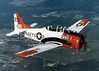 T-28B VT-2 over NAS Whiting Field c1973.jpeg