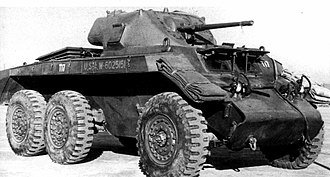 T17 (armored car) - T17 Deerhound.