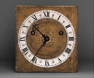 Edward East (clockmaker) - Image: Table or bracket clock MET DP350912
