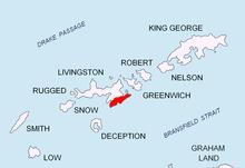 Владайска седловина на остров Ливингстън
