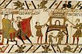 Tapestry by unknown weaver - The Bayeux Tapestry (detail) - WGA24169.jpg