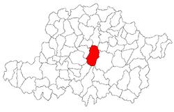 Vị trí của Târnova
