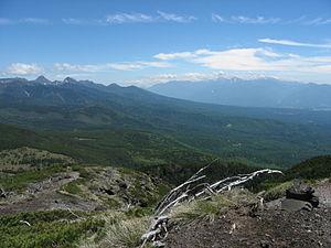 Chino, Nagano - Tateshina Highland from Mt.Kitayokodake