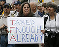 Tea Party sign - Taxpayer March on Washington.jpg