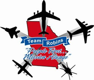 Robins Air Force Base - Team Robins Logo