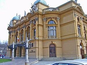 Jan Zawiejski - Juliusz Słowacki Theatre, Kraków, by Zawiejski