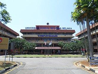Central Melaka District - Technical University of Malaysia Melaka